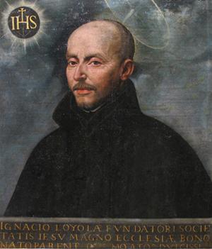 San Ignacio de Loyola, fundador de la Compañía de Jesus.